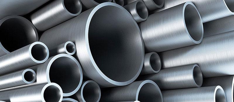 Tubo de aço galvanizado preto