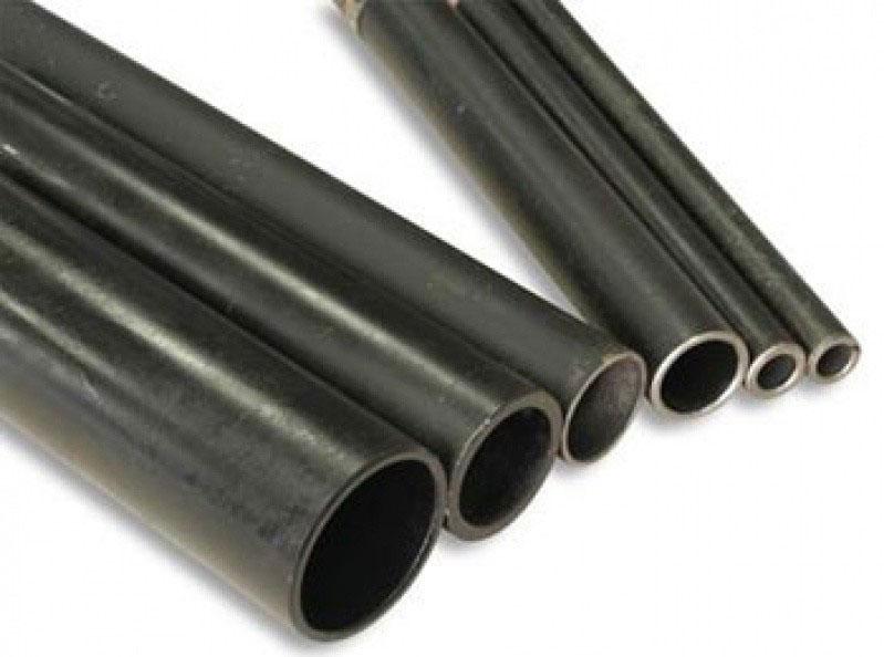 Tubo de aço preto